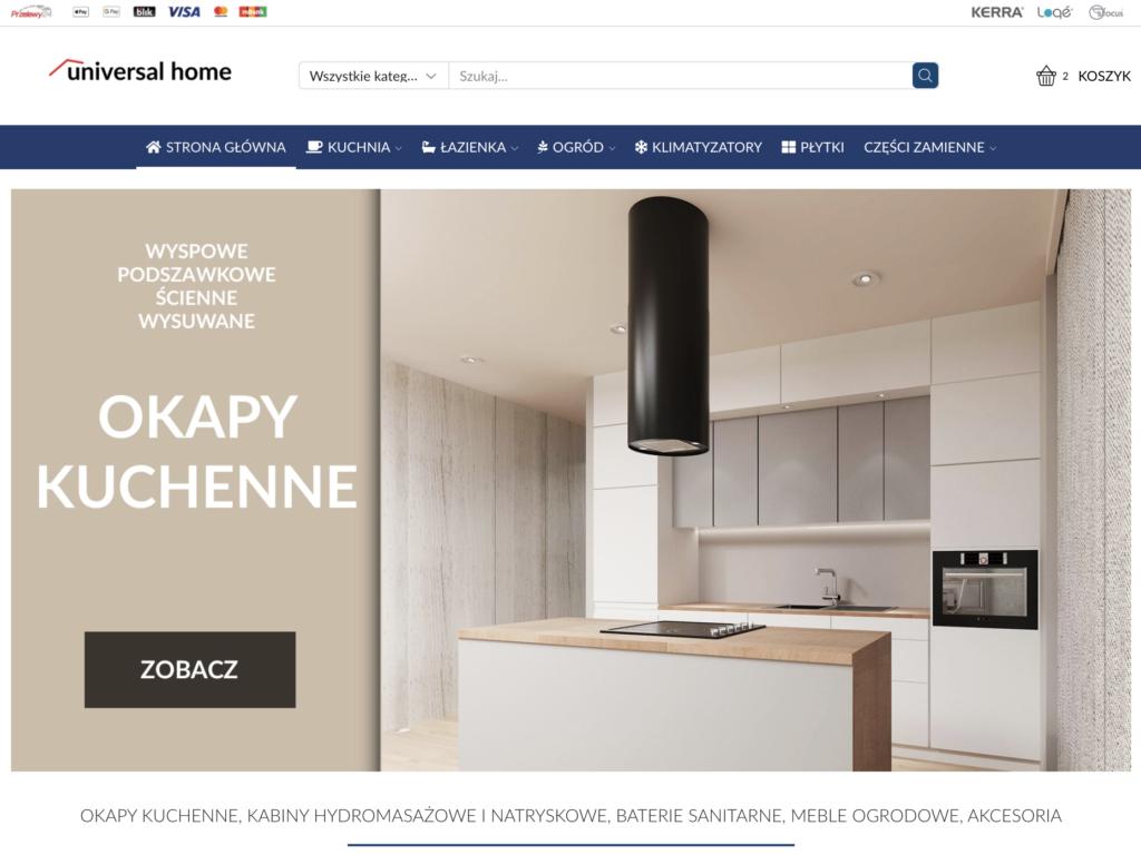 Sklep internetowy Universalhome.pl